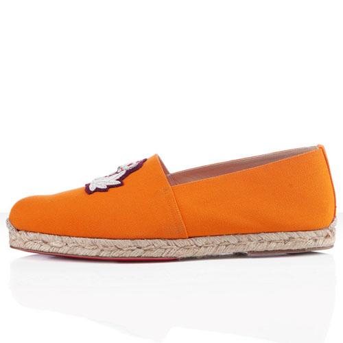 Christian Louboutin Papi Hugo Sandals Orange